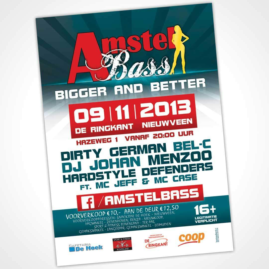 amstelbass-eventposter