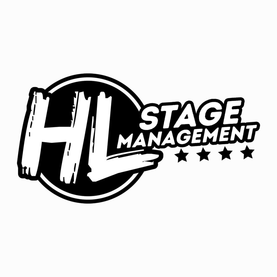 stage management logo ontwerp