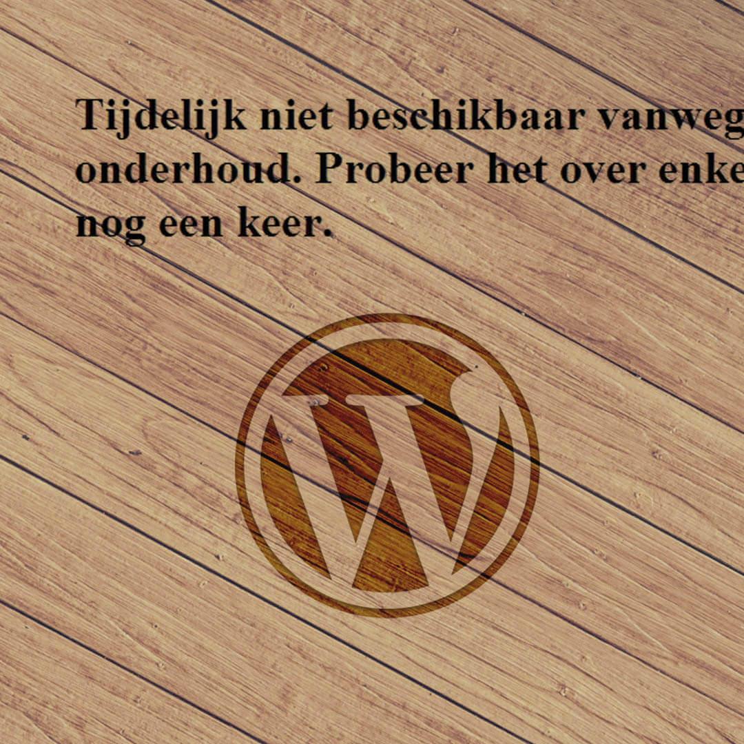 Wordpress-tijdelijk-niet-beschikbaar-onderhoud