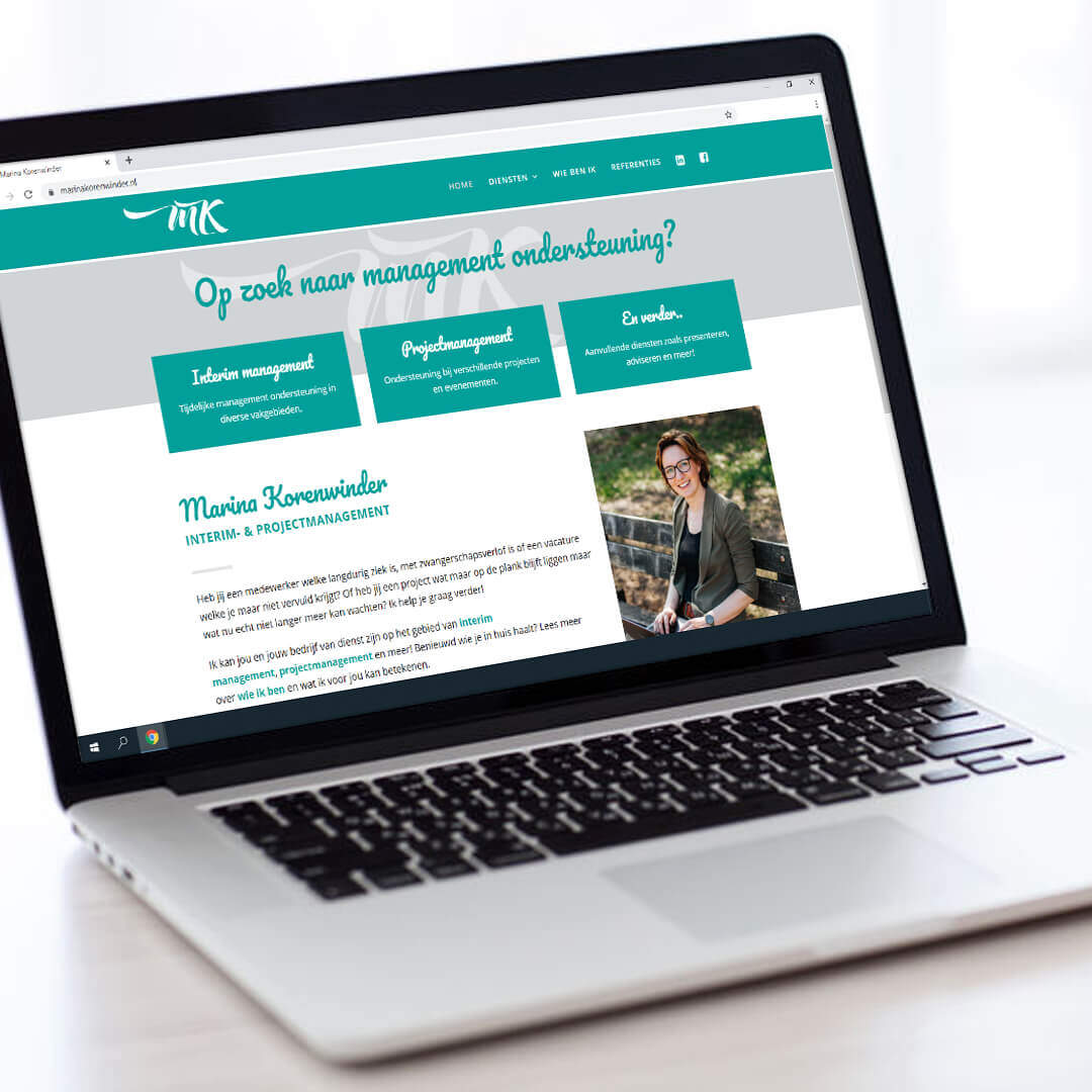 mk interim en projectmanagement webdesign